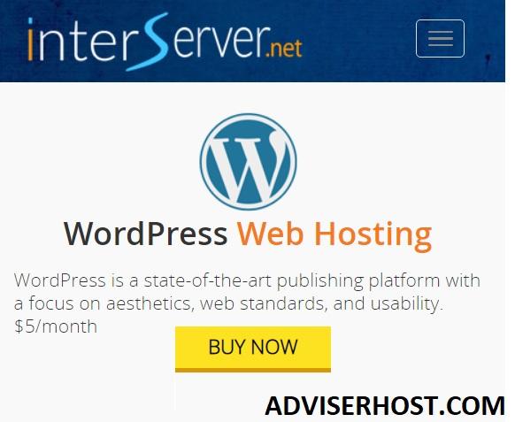 استضافة interserver ووردبريس