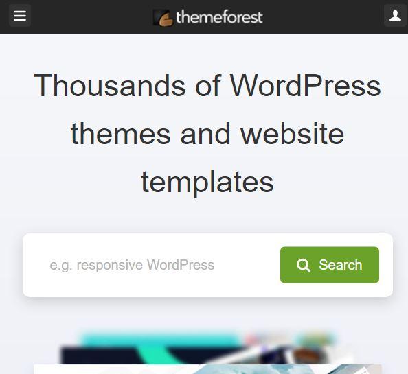 ما هو موقع ثيم فورست ThemeForest